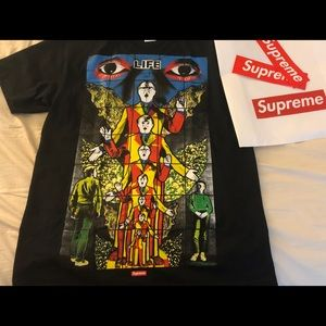 Supreme T-shirt (death and life)